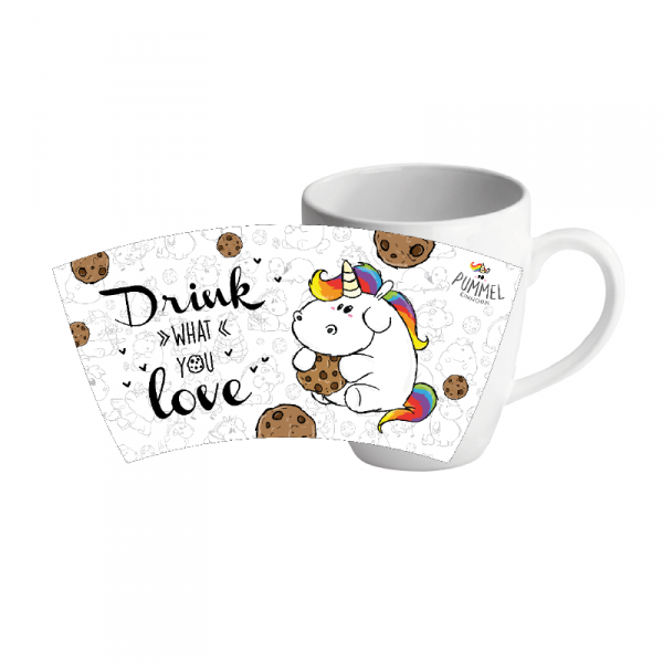 Pummeleinhorn Kaffeetasse - Drink what you love