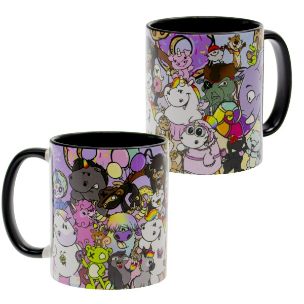 Pummel & Friends - Tasse (320ml) - Wimmelbild 3.0
