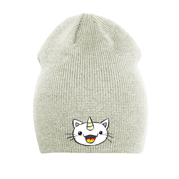 Pummel & Friends - Long Beanie (creme) - Purricorn