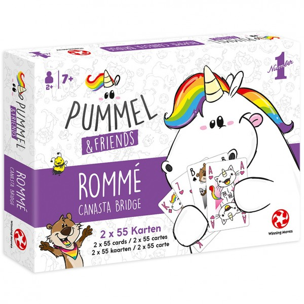 Pummel & Friends - Spielkarten - Canasta-Bridge-Rommé