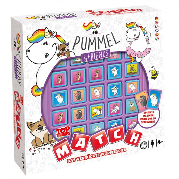 Pummel & Friends - Top Trumps Match