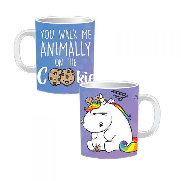 Pummeleinhorn Tasse - Denglish Cookie (Fullprint)