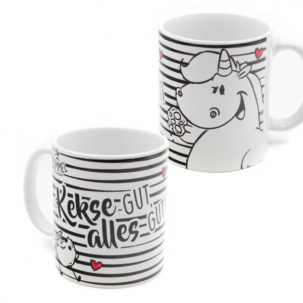 Pummel & Friends - Tasse (320ml) - Kekse gut, alles gut